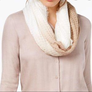 Inc international ombré waffle infinity scarf
